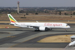 NIKEさんが、O・R・タンボ国際空港で撮影したエチオピア航空 A350-941XWBの航空フォト(写真)