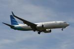 kuro2059さんが、クアラルンプール国際空港で撮影したガルーダ・インドネシア航空 737-8U3の航空フォト(写真)