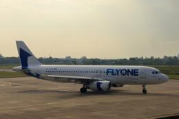 やまさんが、ビン空港で撮影したフライ・ワン A320-232の航空フォト(飛行機 写真・画像)