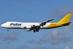 あしゅーさんが、成田国際空港で撮影したポーラーエアカーゴ 747-87UF/SCDの航空フォト(飛行機 写真・画像)