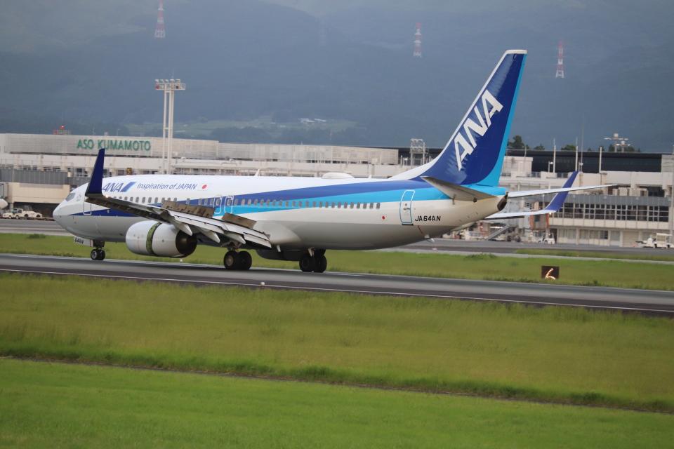 flyflygoさんの全日空 Boeing 737-800 (JA64AN) 航空フォト