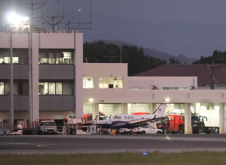 flyflygoさんのアジア航測 Beechcraft 90 King Air (JA81AJ) 航空フォト