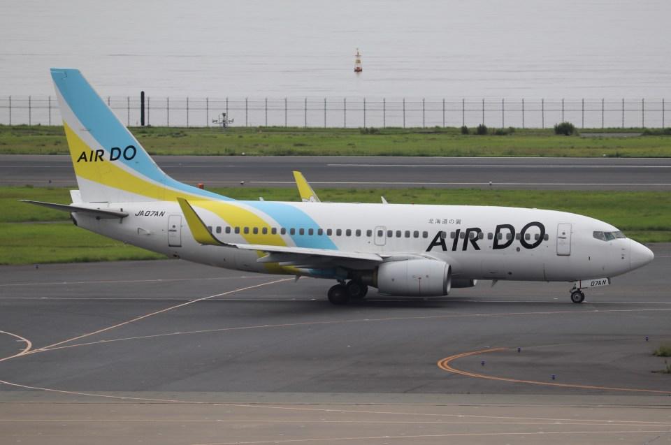 BOEING737MAX-8さんのAIR DO Boeing 737-700 (JA07AN) 航空フォト