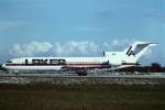 tassさんが、フォートローダーデール・ハリウッド国際空港で撮影したレーカー・エアウェイズ 727-2J7/Advの航空フォト(飛行機 写真・画像)