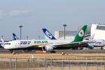 panchiさんが、成田国際空港で撮影したエバー航空 787-9の航空フォト(飛行機 写真・画像)