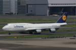 KAZKAZさんが、羽田空港で撮影したルフトハンザドイツ航空 747-830の航空フォト(写真)
