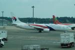 FRTさんが、成田国際空港で撮影したマレーシア航空 737-8H6の航空フォト(飛行機 写真・画像)