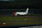 FRTさんが、ヘルシンキ空港で撮影したノルウェー・エア・インターナショナル 737-8JPの航空フォト(飛行機 写真・画像)