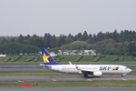 SKYLINEさんが、成田国際空港で撮影したスカイマーク 737-8ALの航空フォト(写真)
