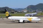 小型機専門家さんが、高知空港で撮影したMIATモンゴル航空 737-8CXの航空フォト(写真)
