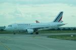 FRTさんが、パリ シャルル・ド・ゴール国際空港で撮影したエールフランス航空 A319-115LRの航空フォト(飛行機 写真・画像)