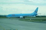FRTさんが、パリ シャルル・ド・ゴール国際空港で撮影したトゥイ・エアラインズ・ベルギー 737-8K5の航空フォト(飛行機 写真・画像)