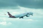 FRTさんが、パリ シャルル・ド・ゴール国際空港で撮影したモーリシャス航空 A350-941XWBの航空フォト(飛行機 写真・画像)