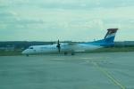 FRTさんが、パリ シャルル・ド・ゴール国際空港で撮影したルクスエア DHC-8-402Q Dash 8の航空フォト(飛行機 写真・画像)