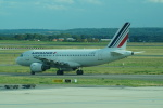 FRTさんが、パリ シャルル・ド・ゴール国際空港で撮影したエールフランス航空 A319-111の航空フォト(飛行機 写真・画像)