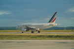 FRTさんが、パリ シャルル・ド・ゴール国際空港で撮影したエールフランス航空 A318-111の航空フォト(飛行機 写真・画像)