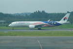 FRTさんが、成田国際空港で撮影したマレーシア航空 A350-941XWBの航空フォト(写真)