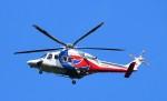 鉄バスさんが、広島空港で撮影した広島県防災航空隊 AW139の航空フォト(写真)