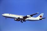 tassさんが、成田国際空港で撮影したエア・カナダ A340-313Xの航空フォト(飛行機 写真・画像)