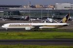 ぐっちーさんが、羽田空港で撮影したシンガポール航空 777-312/ERの航空フォト(写真)