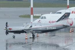 ユターさんが、リガ国際空港で撮影した個人所有 TBM-900 (700N)の航空フォト(飛行機 写真・画像)