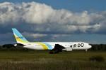 にしやんさんが、帯広空港で撮影したAIR DO 767-381/ERの航空フォト(写真)