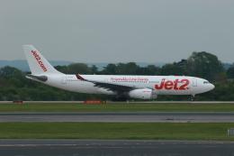採れたてほしいもさんが、マンチェスター空港で撮影したジェット・ツー A330-243の航空フォト(飛行機 写真・画像)