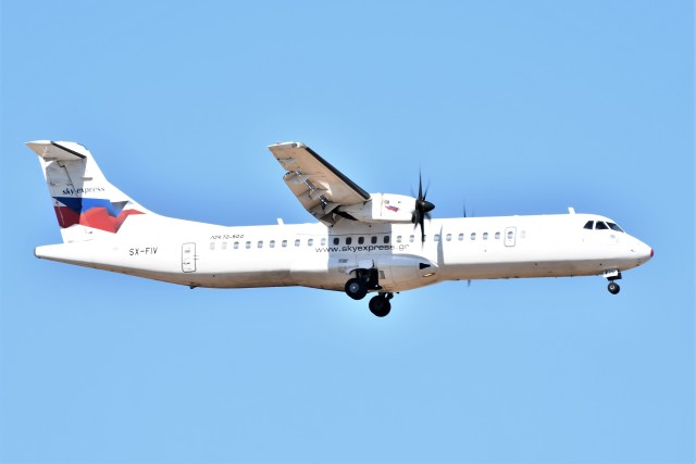 2019年09月14日に撮影されたスカイ・エクスプレスの航空機写真