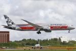 あしゅーさんが、成田国際空港で撮影したエティハド航空 787-9の航空フォト(飛行機 写真・画像)