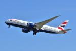 @たかひろさんが、関西国際空港で撮影したブリティッシュ・エアウェイズ 787-8 Dreamlinerの航空フォト(写真)