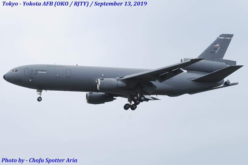 Chofu Spotter Ariaさんのアメリカ空軍 McDonnell Douglas DC-10 (79-1946) 航空フォト
