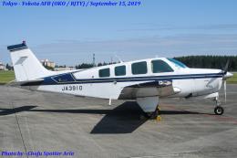 Chofu Spotter Ariaさんが、横田基地で撮影した日本個人所有 A36 Bonanza 36の航空フォト(飛行機 写真・画像)