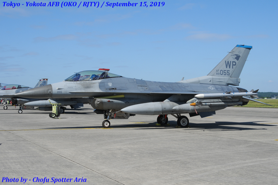 Chofu Spotter Ariaさんのアメリカ空軍 General Dynamics F-16 Fighting Falcon (89-2055) 航空フォト