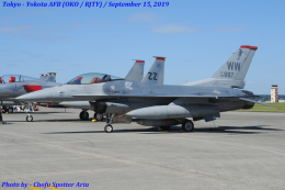 Chofu Spotter Ariaさんが、横田基地で撮影したアメリカ空軍 F-16CM-50-CF Fighting Falconの航空フォト(飛行機 写真・画像)