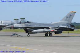 Chofu Spotter Ariaさんが、横田基地で撮影したアメリカ空軍 F-16CM-40-CF Fighting Falconの航空フォト(飛行機 写真・画像)