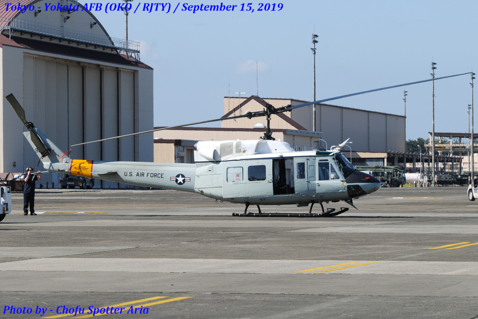 Chofu Spotter Ariaさんのアメリカ空軍 Bell UH-1 Iroquois / Huey (69-6639) 航空フォト