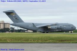 Chofu Spotter Ariaさんが、横田基地で撮影したアメリカ空軍 C-17A Globemaster IIIの航空フォト(飛行機 写真・画像)