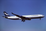tassさんが、成田国際空港で撮影したフィンエアー A340-311の航空フォト(飛行機 写真・画像)
