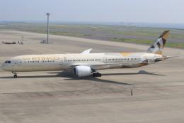 キイロイトリさんが、中部国際空港で撮影したエティハド航空 787-10の航空フォト(飛行機 写真・画像)