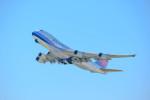 Astechnoさんが、関西国際空港で撮影したチャイナエアライン 747-409F/SCDの航空フォト(写真)
