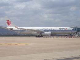 JA8037さんが、杭州蕭山国際空港で撮影した中国国際航空 A330-243の航空フォト(飛行機 写真・画像)