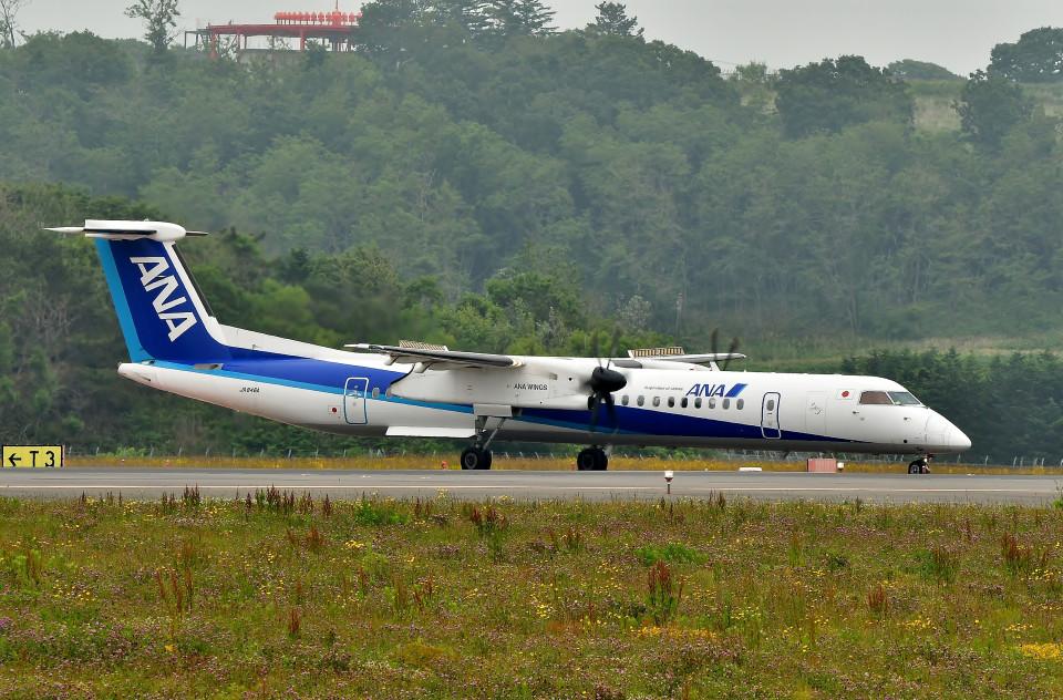 DojalanaさんのANAウイングス Bombardier DHC-8-400 (JA846A) 航空フォト