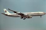 tassさんが、成田国際空港で撮影した中国東方航空 A340-313Xの航空フォト(写真)