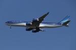 SIさんが、成田国際空港で撮影したアゼルバイジャン航空 A340-542の航空フォト(飛行機 写真・画像)