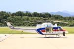 デデゴンさんが、石見空港で撮影した国土交通省 地方整備局 412EPの航空フォト(写真)