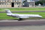 yabyanさんが、名古屋飛行場で撮影したTai Leasing Inc G-V-SP Gulfstream G550の航空フォト(飛行機 写真・画像)