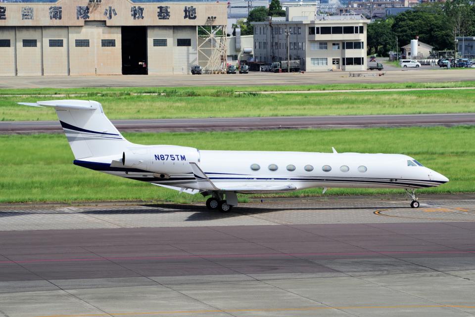 yabyanさんのTai Leasing Inc Gulfstream G500/G550 (G-V) (N875TM) 航空フォト