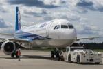 西風さんが、大館能代空港で撮影した全日空 A321-211の航空フォト(写真)