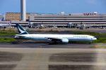 まいけるさんが、羽田空港で撮影したキャセイパシフィック航空 777-31Hの航空フォト(写真)