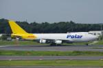 apphgさんが、成田国際空港で撮影したポーラーエアカーゴ 747-46NF/SCDの航空フォト(写真)